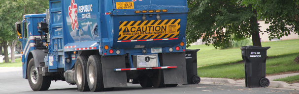 Republic Services Garbage Truck