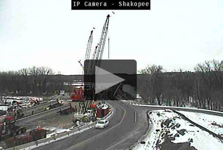 Web camera showing construction