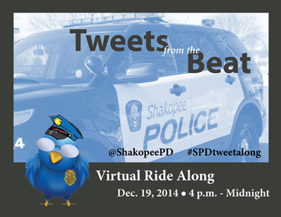 Poster for virtual ride-along