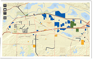 Map of projects in Shakopee