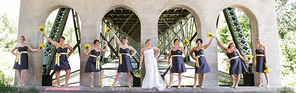 Ladies Under the Bridge by Sara Oyer