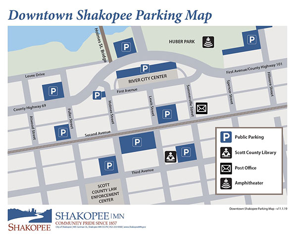 City of Shakopee Downtown Parking