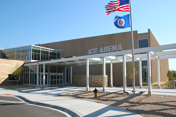 Ice Arena building