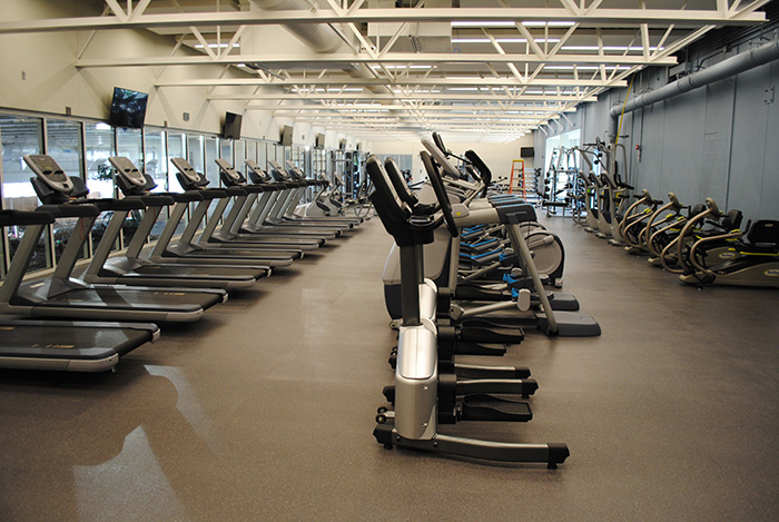 New Fitness equipment