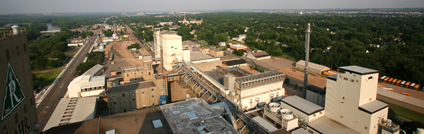 View from atop Rahr Malting