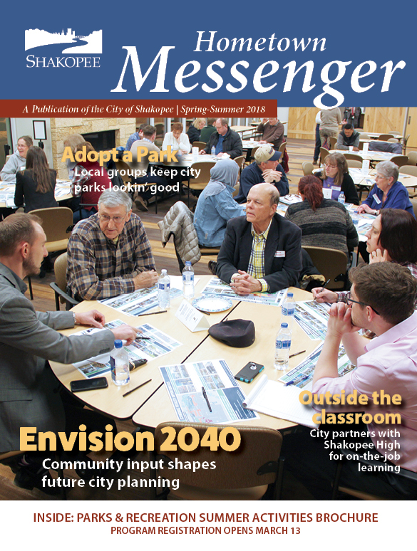 Spring 2018 Hometown Messenger Cover