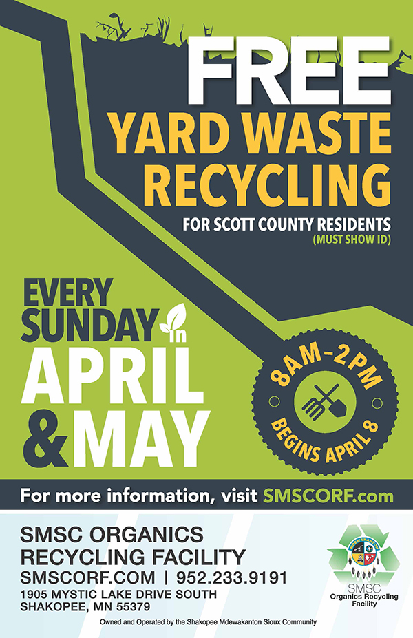ORF Spring Yard Waste Poster