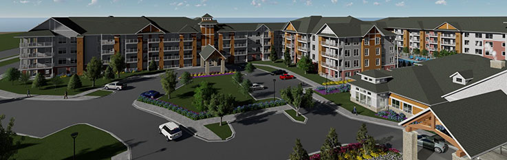 Canterbury Village rendering