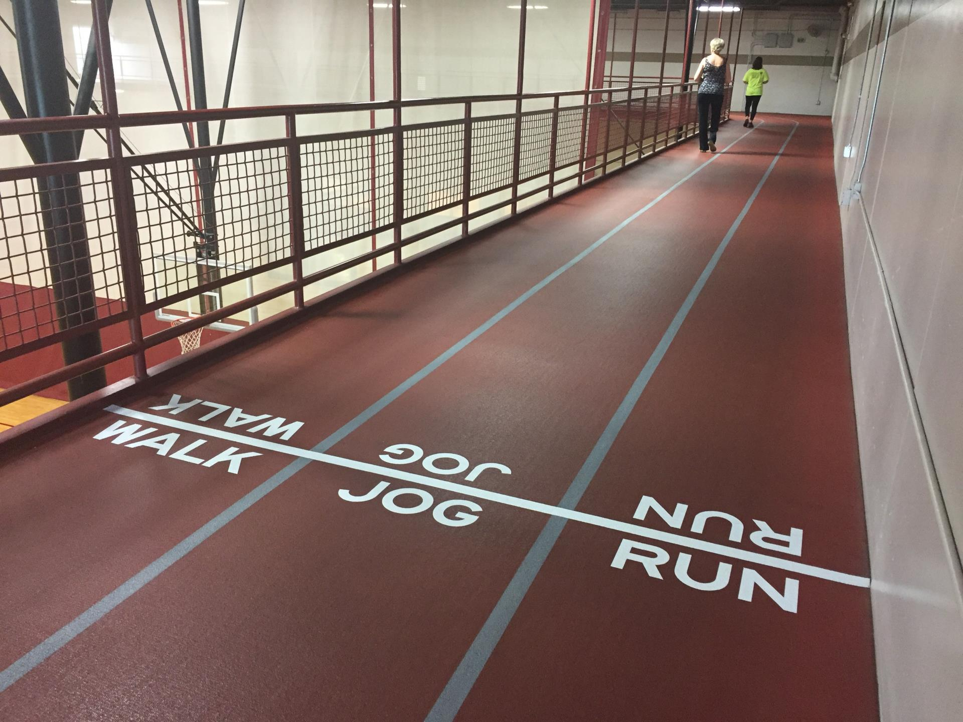 Words on walking track