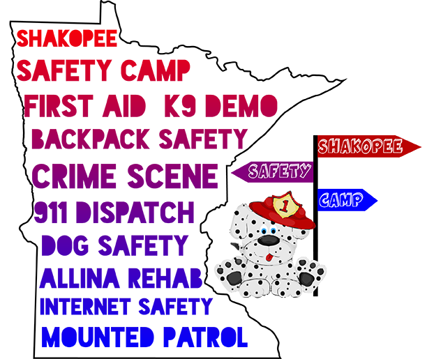 Register your child for Safety Camp
