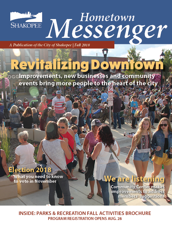 Fall Hometown Messenger 2018 Cover