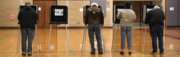 Citizens vote during 2013 General Election