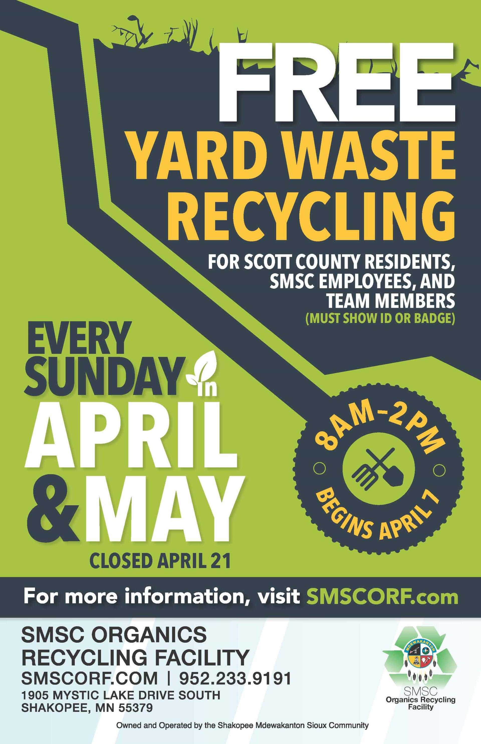 ORF_2019 Spring Yard Waste Drop Off