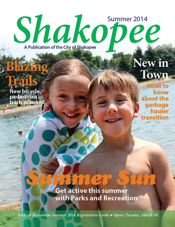 Summer Hometown Messenger, Parks & Recreation Brochure available