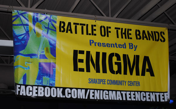 Battle of the Bands sign