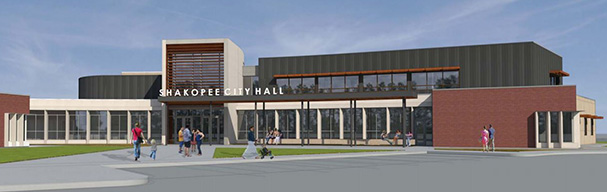 Rendering of City Hall exterior