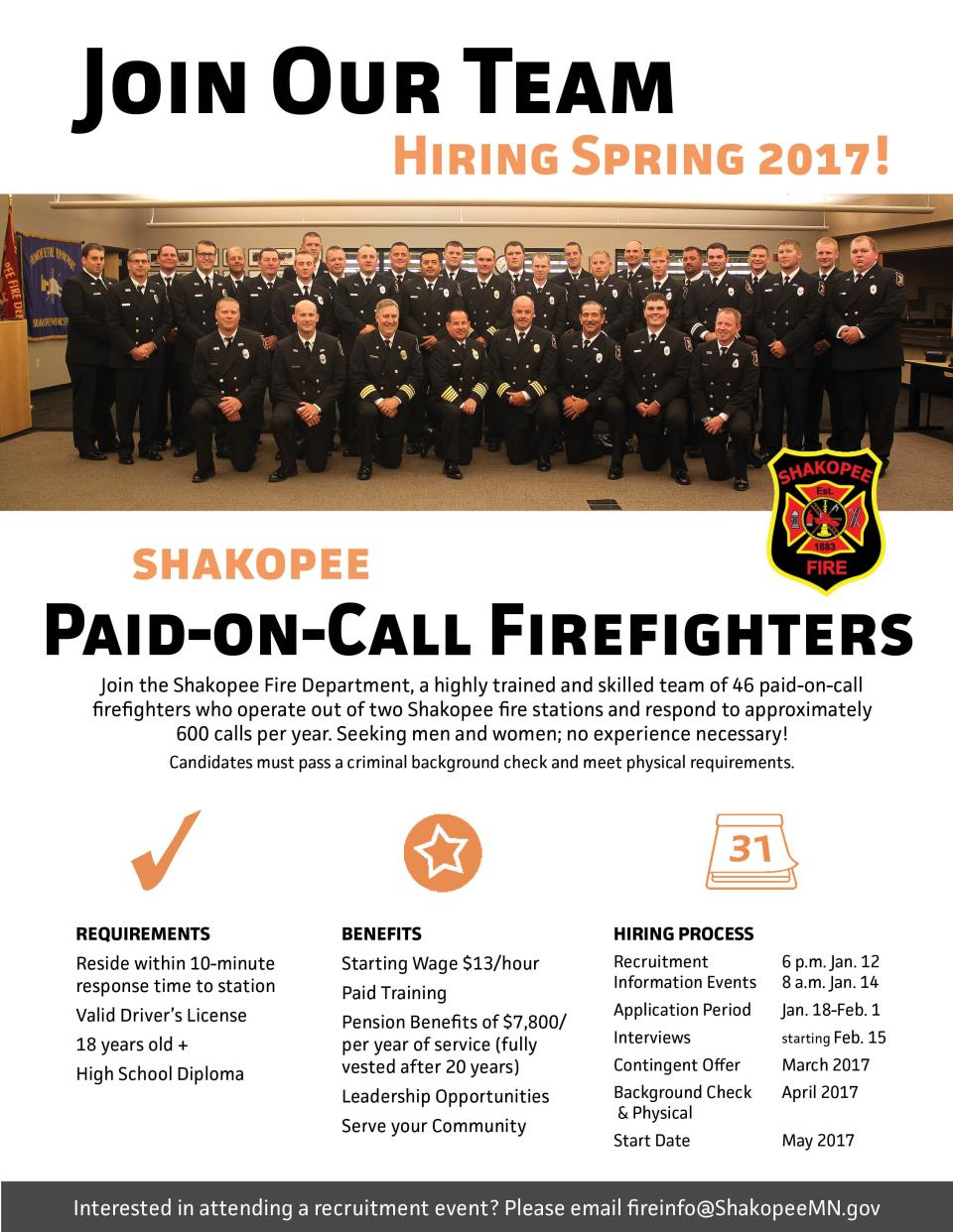 Firefighter Hiring 2017