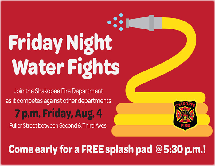 Friday Night Water Fights Poster