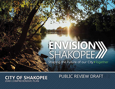 Envision Shakopee draft plan cover