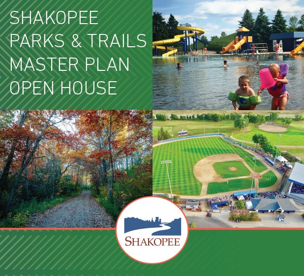 Shakopee Parks, Trails and Recreation Master Plan Open House Flyer