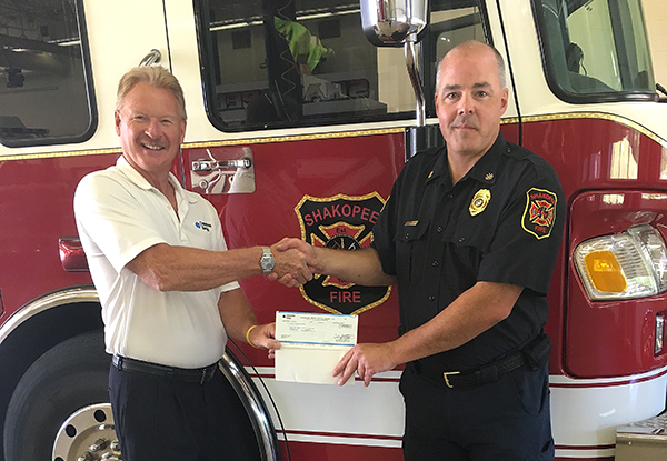 Shakopee Fire receives grant for safety equipment