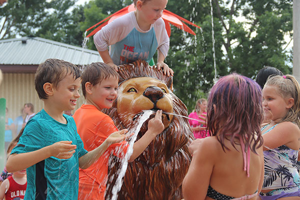 Photos: Lions Park Splash Pad Grand Opening