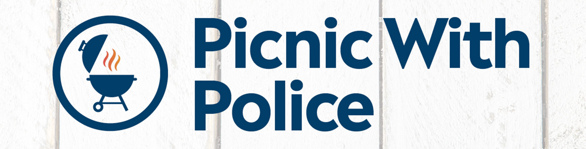 Picnic with Police and grill graphic